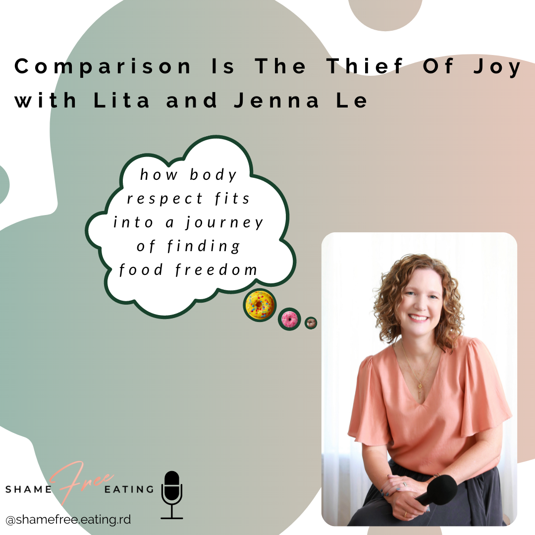 Comparison is the Thief of Joy with Lita and Jenna Le