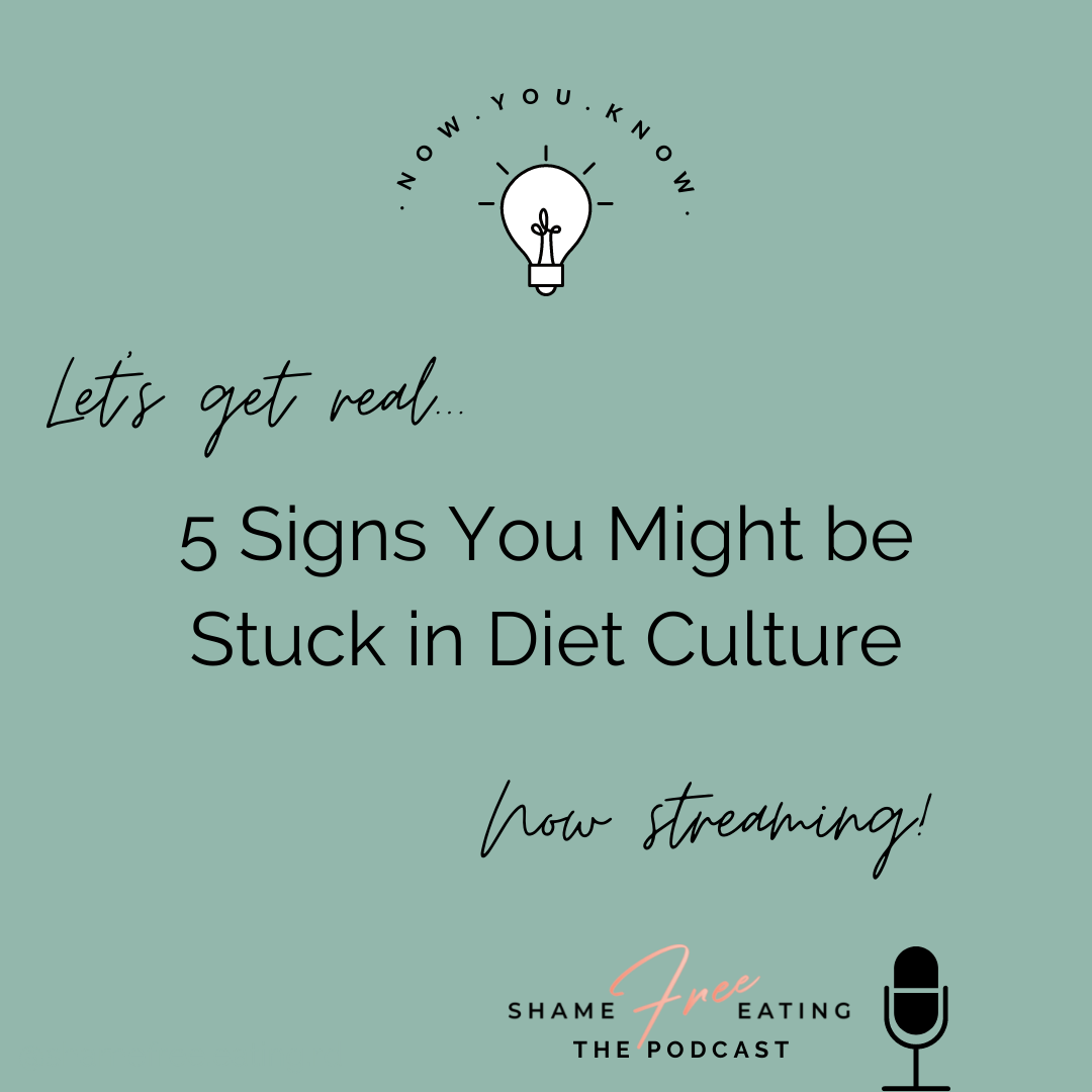 5 Signs You Might Be Stuck in Diet Culture